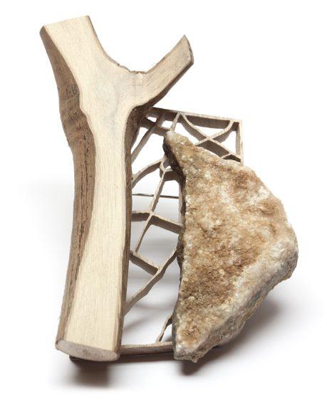 Francis Willemstijn, Stone, broche. Foto met dank aan Francis Willemstijn©