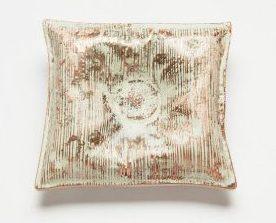 Nicole Beck, Striped Pillow, broche, 2017, metaal