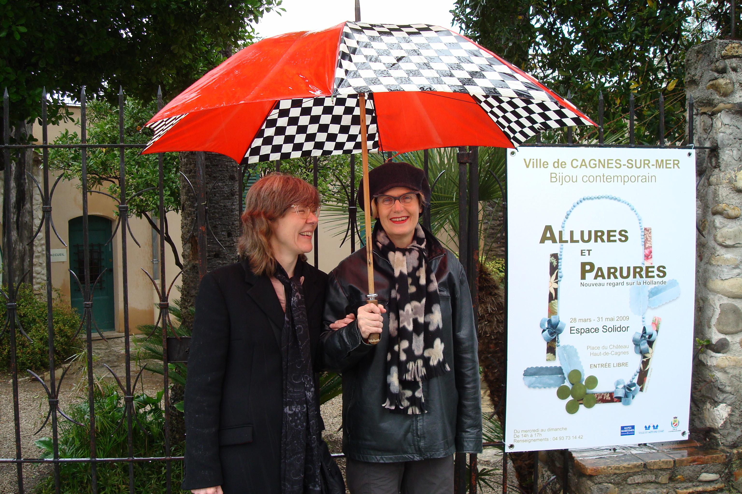 Annelies Planteijdt en Birgit Laken, Espace Solidor, 2009. Foto met dank aan Birgit Laken©