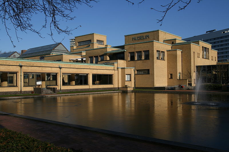 Gemeentemuseum Den Haag. Foto Till Niermann, gebouw, exterieur, Berlage