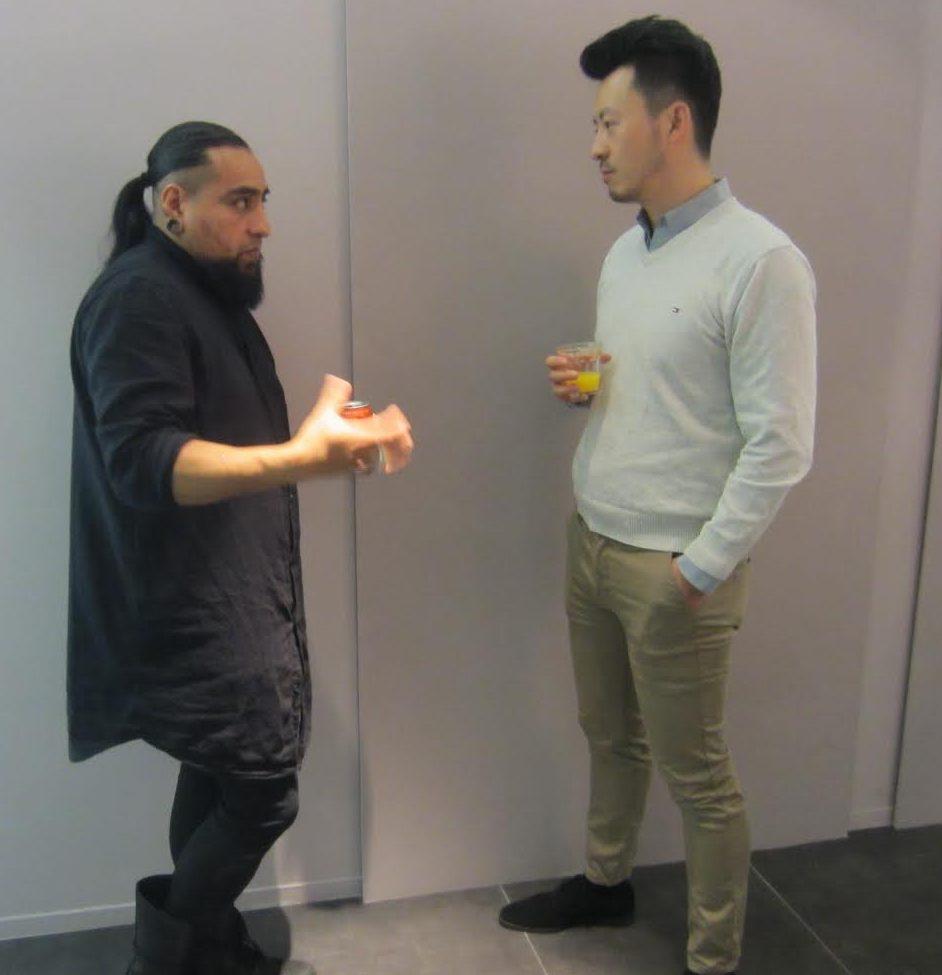 Jorge Manilla en Jie Sun, Galerie Ra, 2017. Foto met dank aan M.O.©