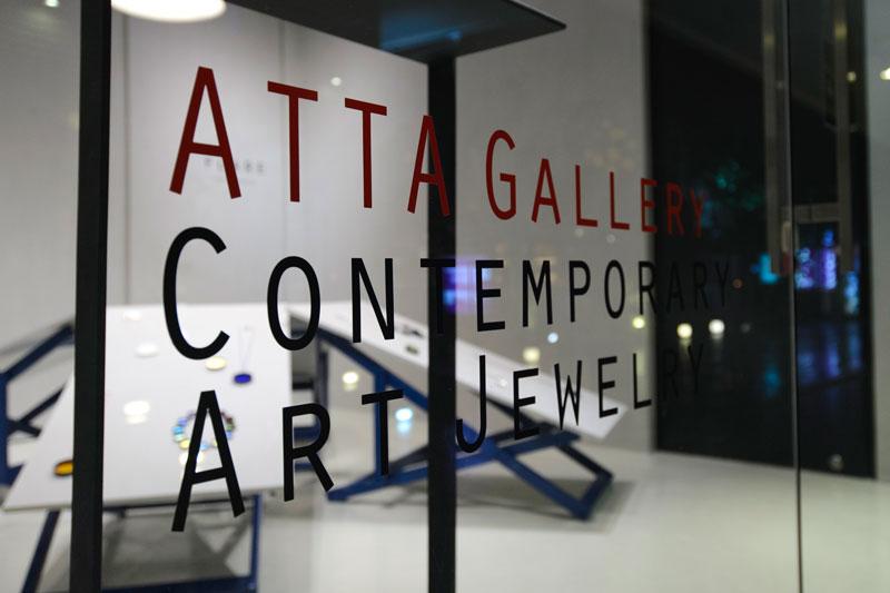 ATTA Gallery, etalage, tentoonstelling