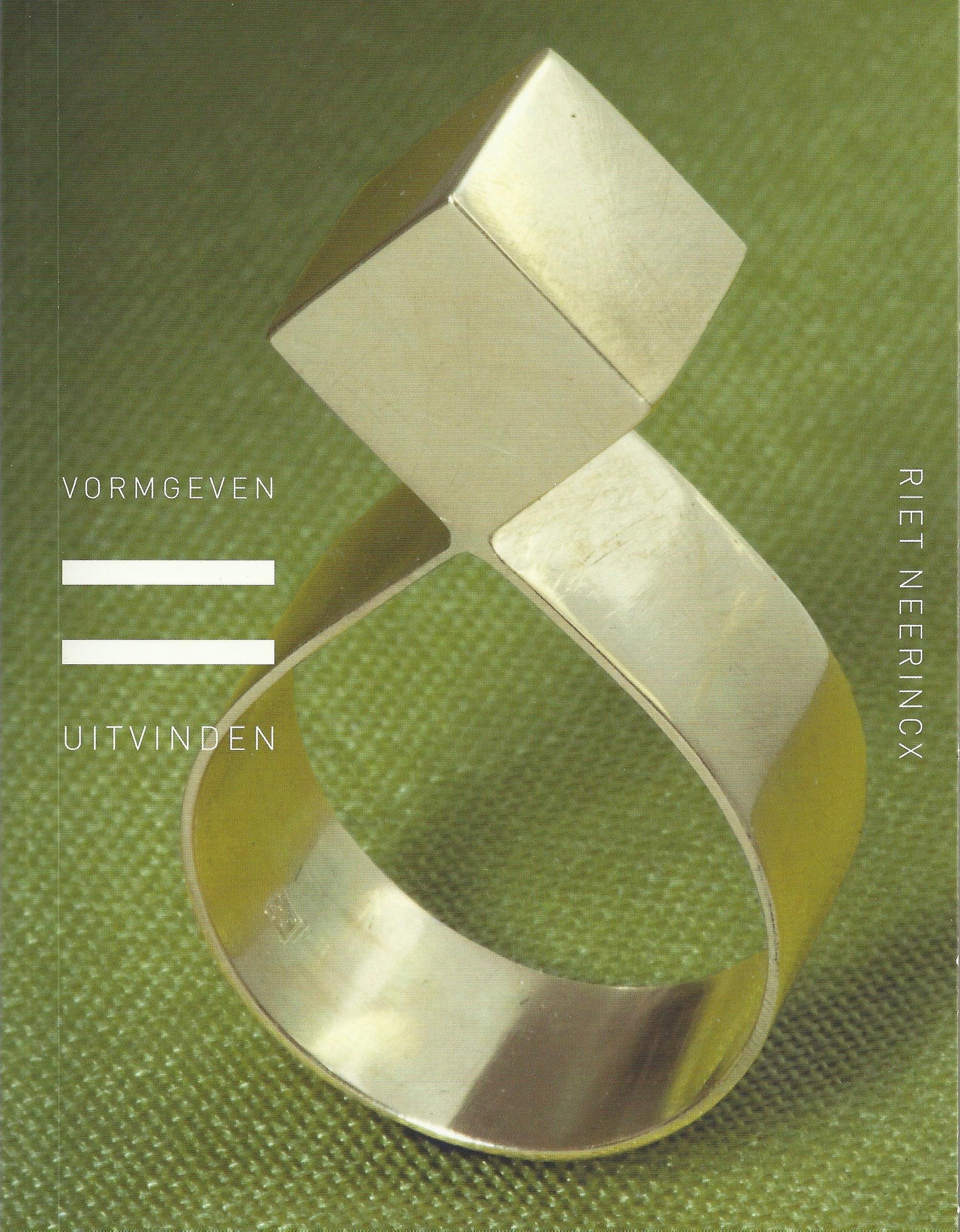 Omslag monografie Riet Neerincx, 2008, ring, 1968, drukwerk, papier, ring