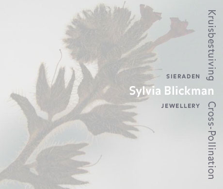 Sylvia Blickman, Kruisbestuiving, omslag, papier, drukwerk