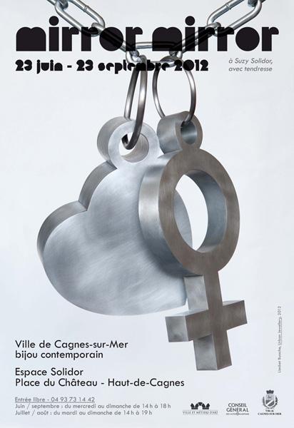 Poster, Liesbet Bussche, Urban jewellery, Suzy's charms, 2012, drukwerk, papier