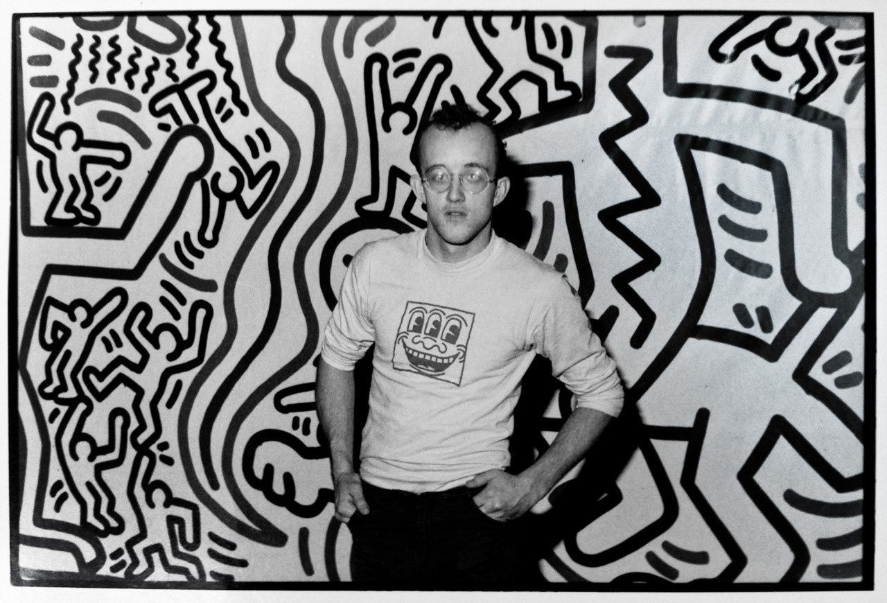 Keith Haring. Courtesy of Louisa Guinness Gallery©