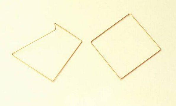 Marijke de Goey, Squares, armbanden, 1994, chp...?. Collectie Design Museum Den Bosch, metaal