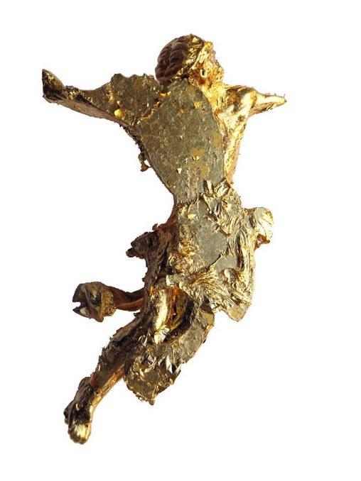Ruudt Peters, IAM Corpus, object, 2015, goud