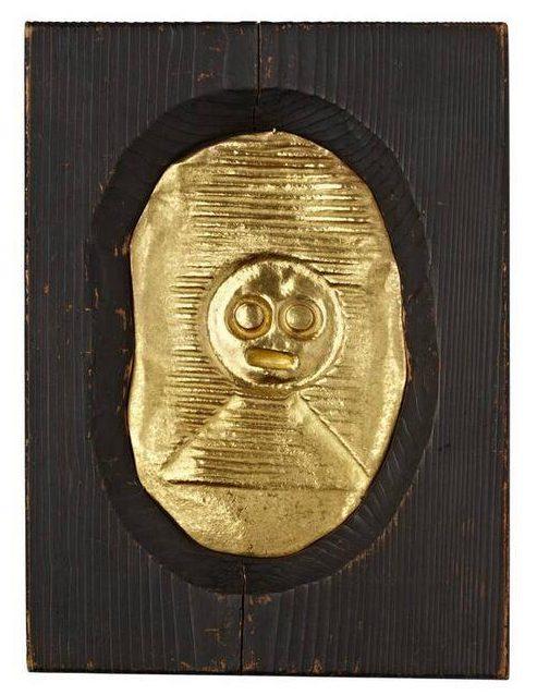 Max Ernst en François Hugo, Grand masque strié, 1960-1961. Foto SMS