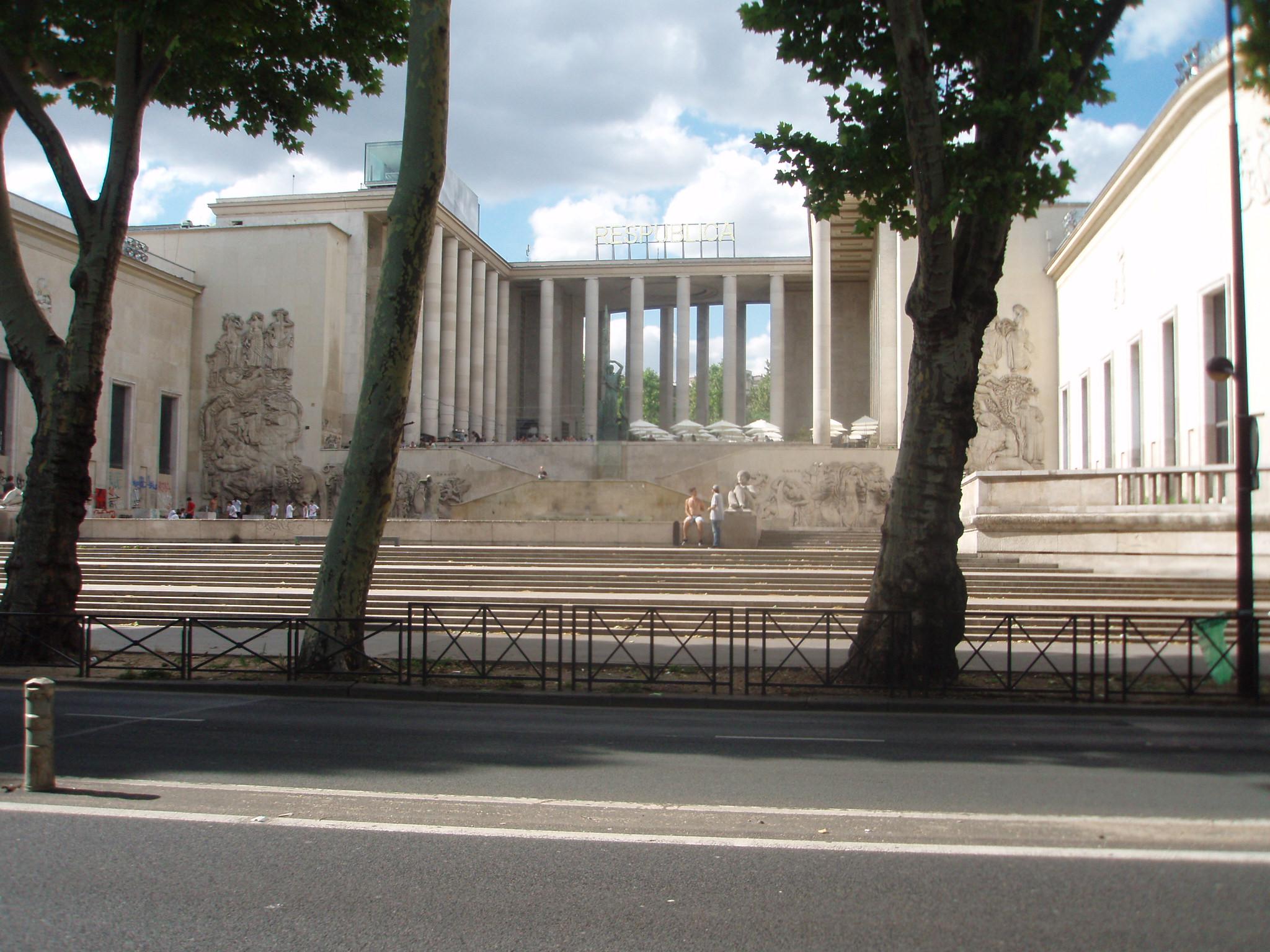 Palais de Tokyo, Musée de l'Art Moderne de la Ville de Paris. Foto met dank aan Mister No, CC BY 3.0