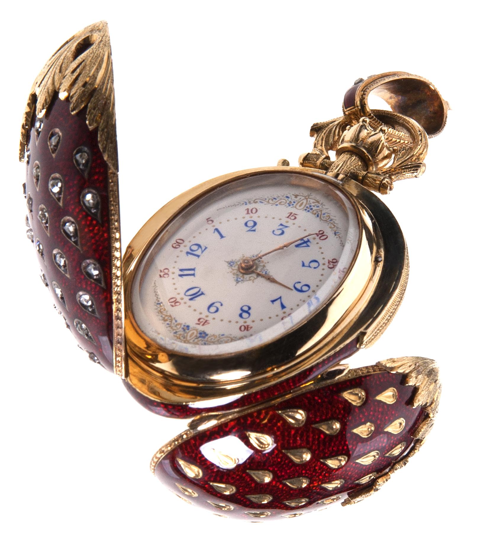 Horloge, circa 1860. Collectie Amsterdam Museum, KA 3627. Foto met dank aan Cromhouthuis©