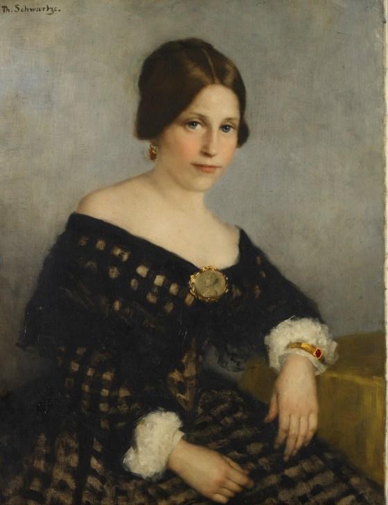 Thérèse Schwartze, Sophia Lopez Suasso. Foto met dank aan Cromhouthuis©