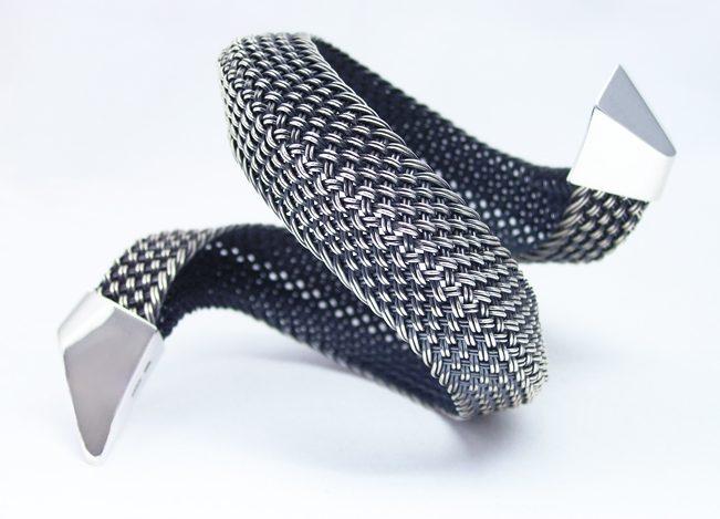 Hanne Behrens, armband, zilver