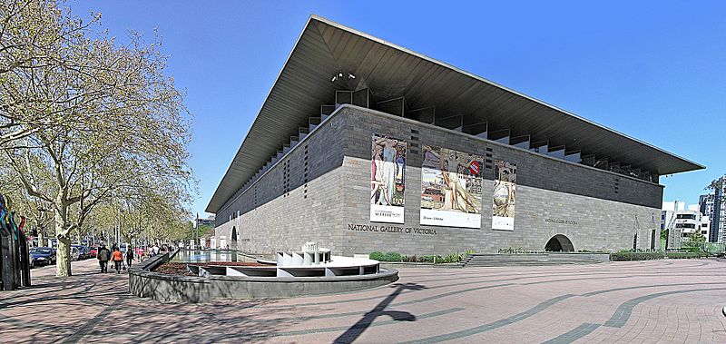 National Gallery of Victoria, Melbourne. Foto met dank aan Donaldytong. CC BY-SA 3.0