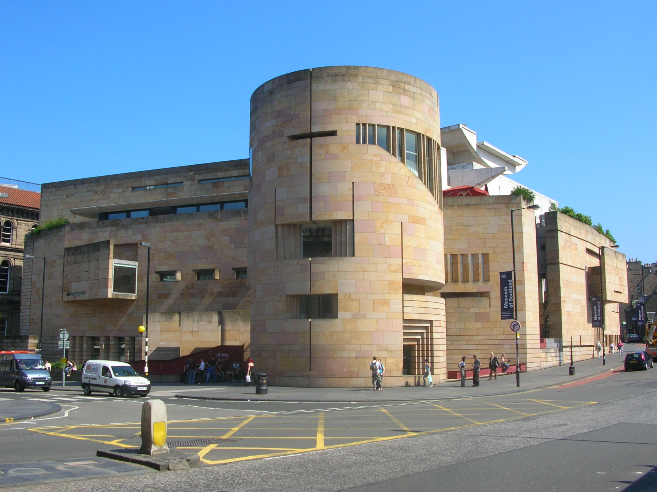 Museum of Scotland, Edinburgh, 2005. Foto met dank aan Maccoinnich, CC BY-SA 3.0
