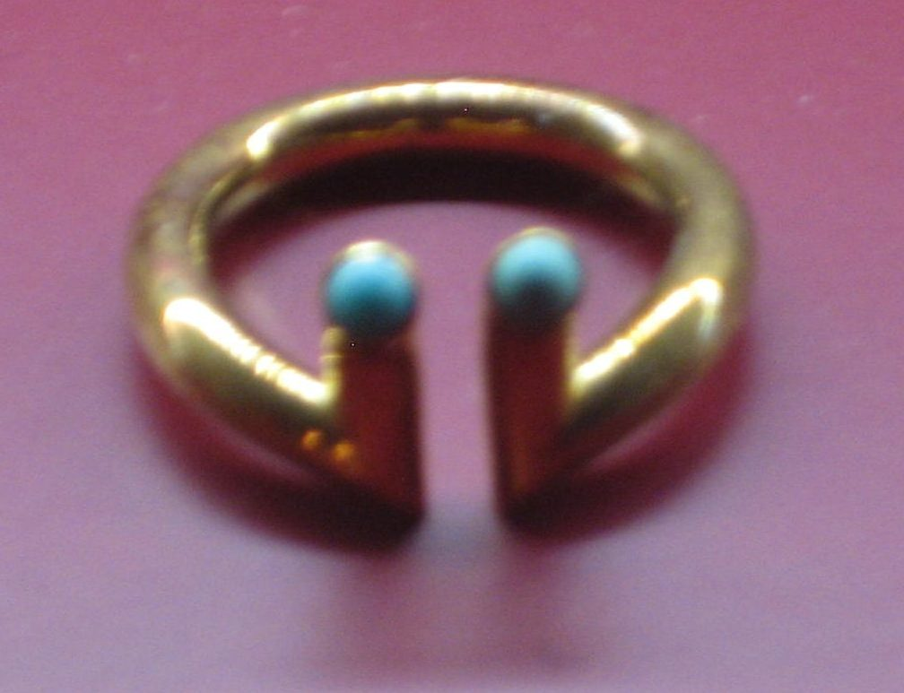 Rolf Lindner, ring, 1975-1976, Collectie Angermuseum, S 123-88, metaal