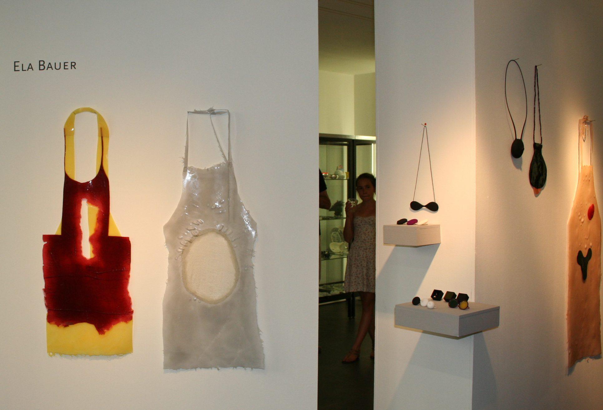 Ela Bauer in Galerie Ra, 2012. Foto met dank aan Ela Bauer©