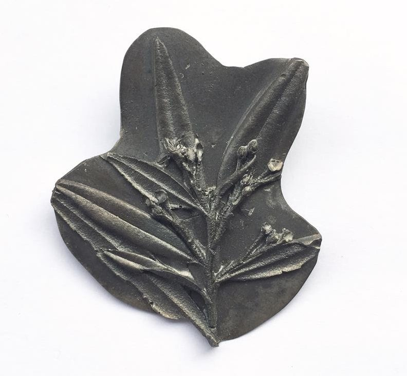Marian Hosking, broche, zilver