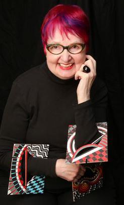 Marjorie Schick, portret, armbanden