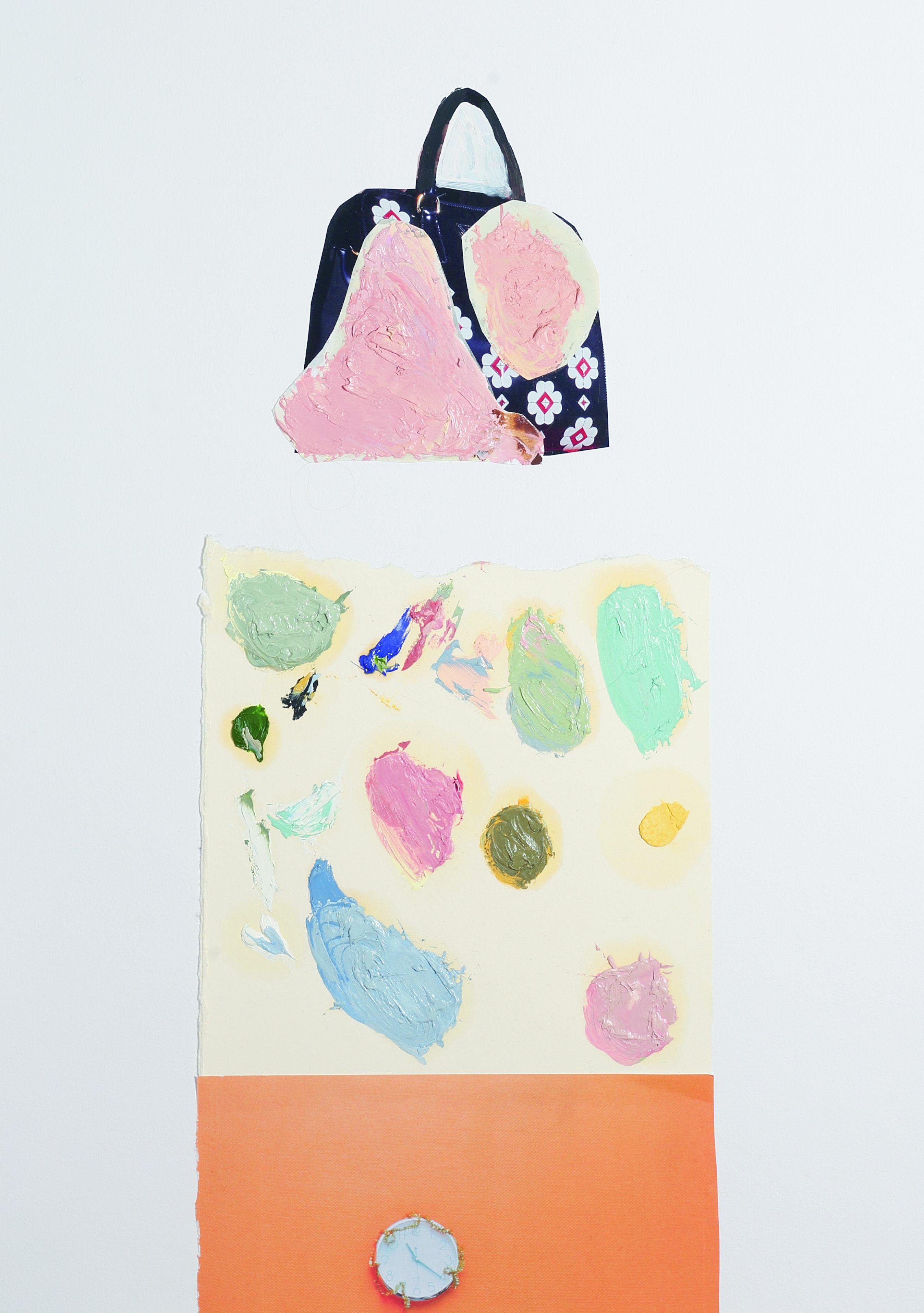 Margit Jäschke collage, 2012. Foto met dank aan Margit Jäschke©