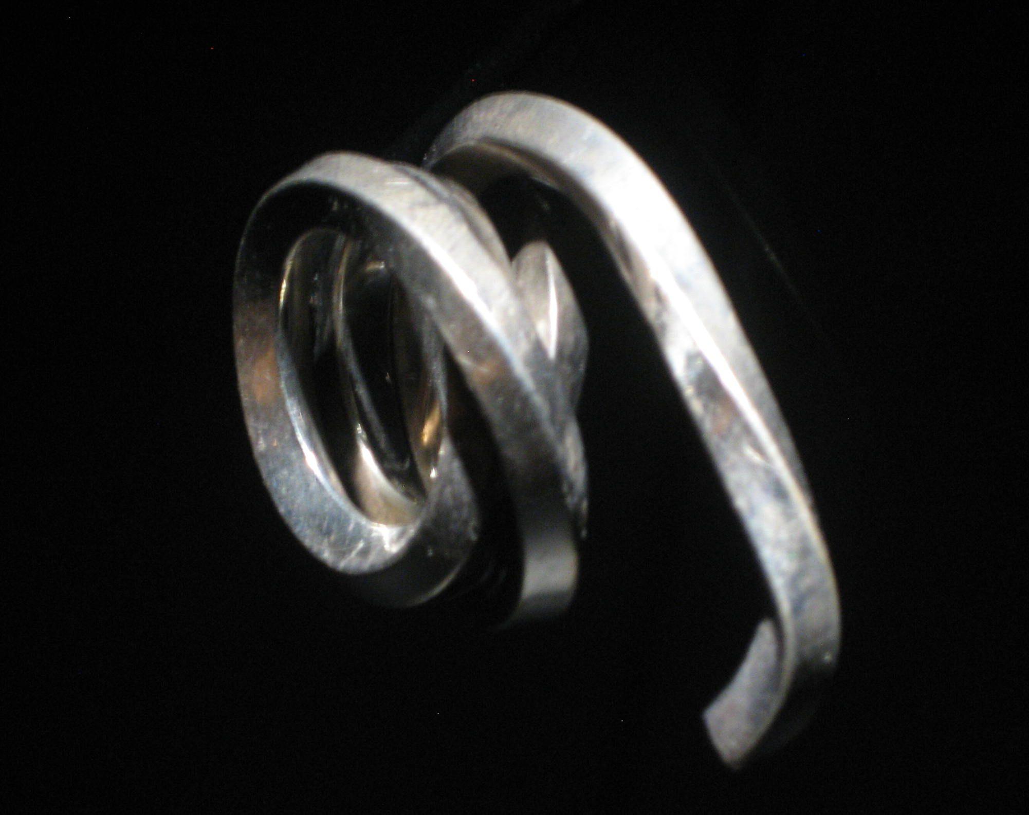 Bernar Venet, Ligne indéterminée, ring, 1985. Collectie Diane Venet. Foto Esther Doornbusch, juni 2018, CC BY 4.0