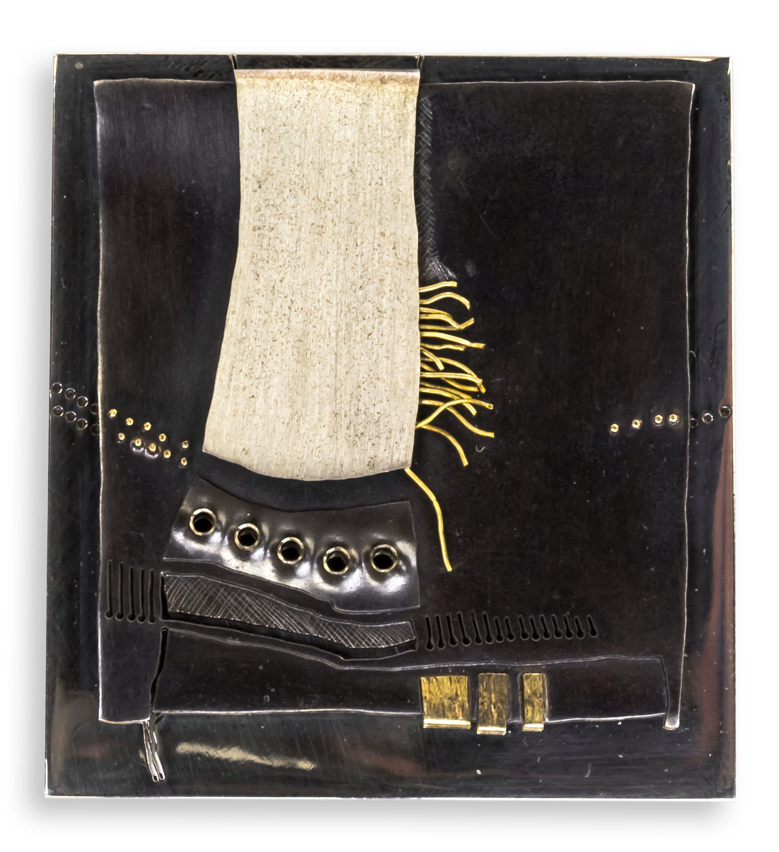 Rüdiger Lorenzen, broche, 1972. Collectie Ida Boelen-van Gelder. Fotografie Aldo Smit©