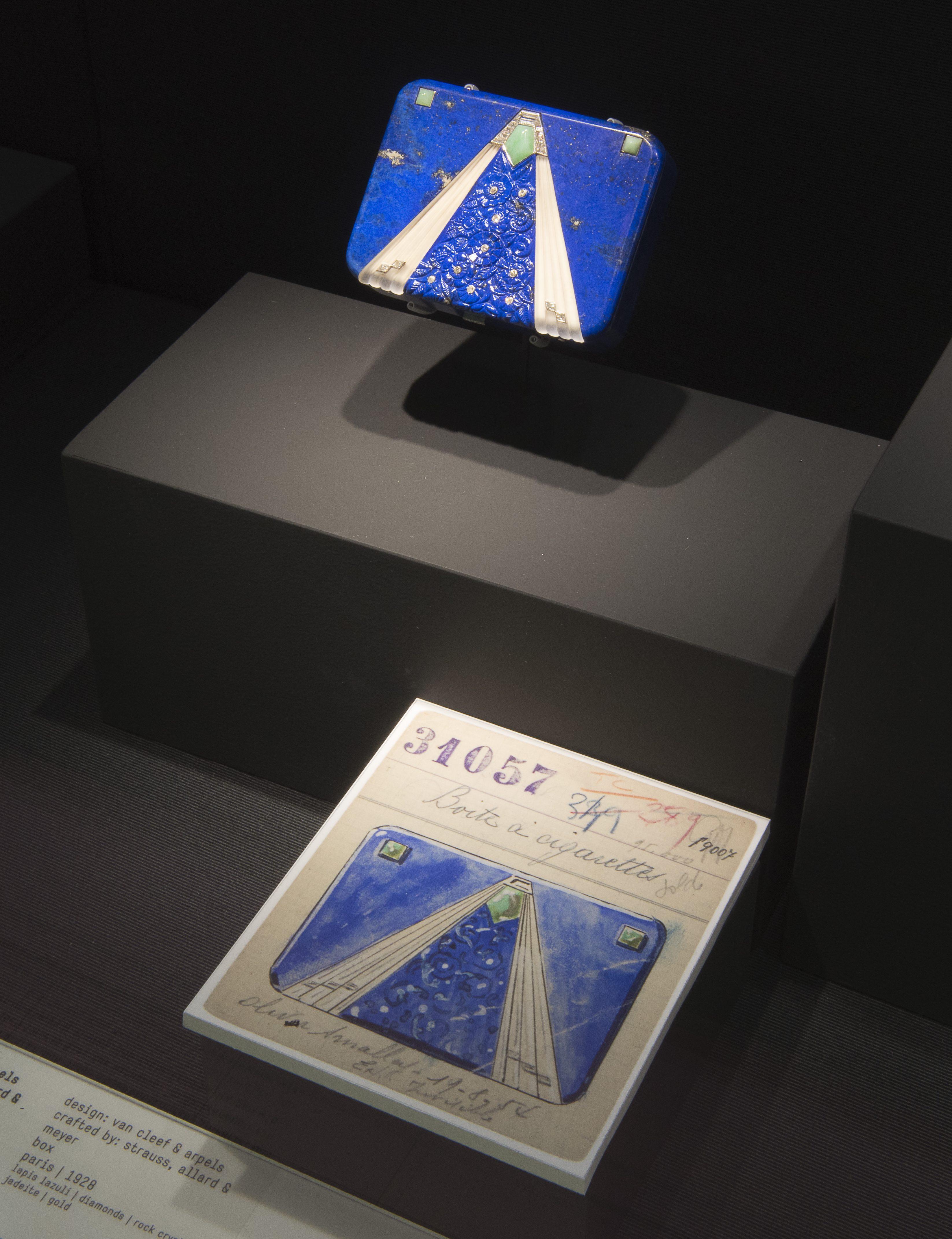 Van Cleef & Arpels, uitgevoerd door Strauss, Allard & Meyer, 1928. Ost trifft West, Aga Khan Collection, 2018. Foto met dank aan Schmuckmuseum Pforzheim, Petra Jaschke©