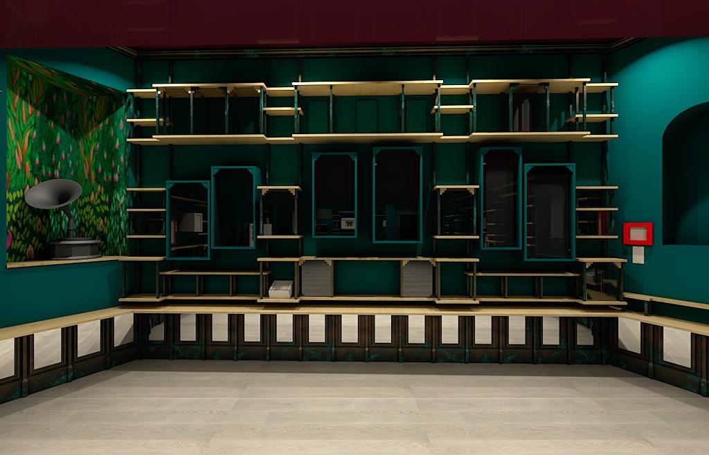 Wonderkamer. Foto met dank aan DIVA, Gert Voorjans©