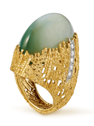 Andrew Grima, ring, 1972. Courtesy of Louisa Guinness Gallery©