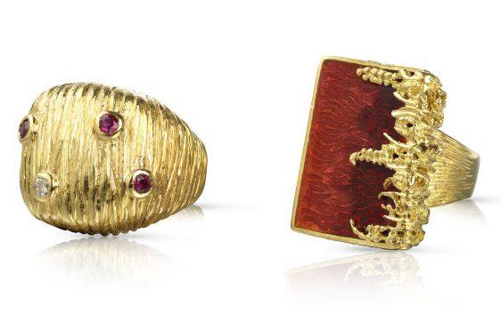 LG Treasures, ringen. Courtesy of Louisa Guinness Gallery©