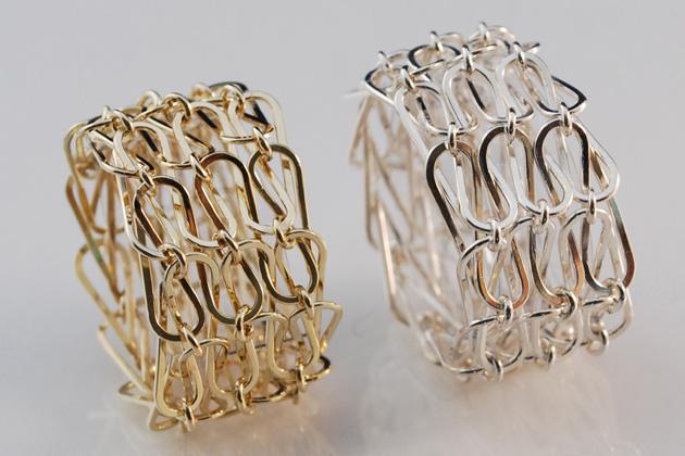 Jet Bartman, ringen. Foto met dank aan Galerie Cécile van Eeden©