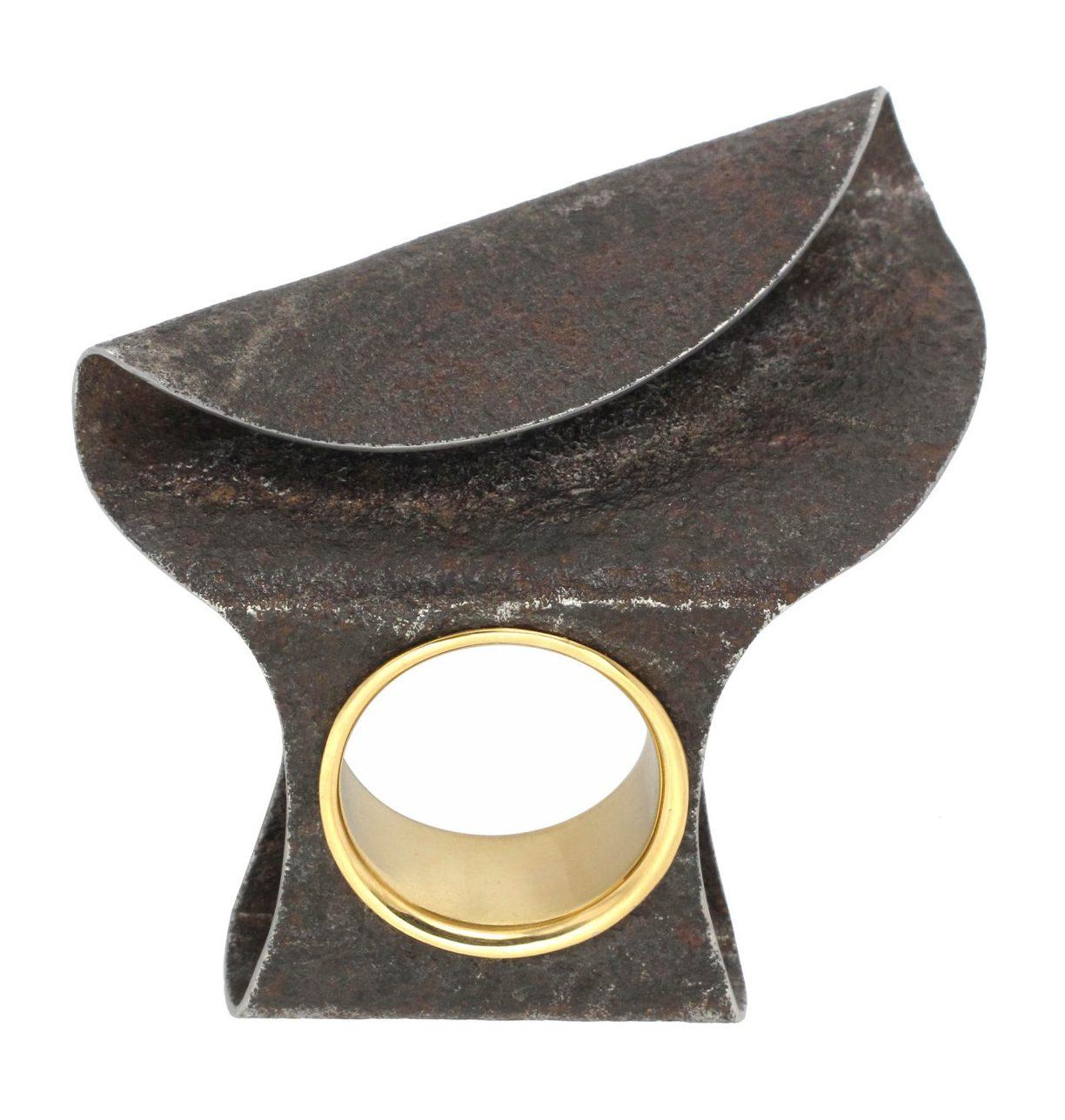 Marianne Anselin, Plier, ring, metaal