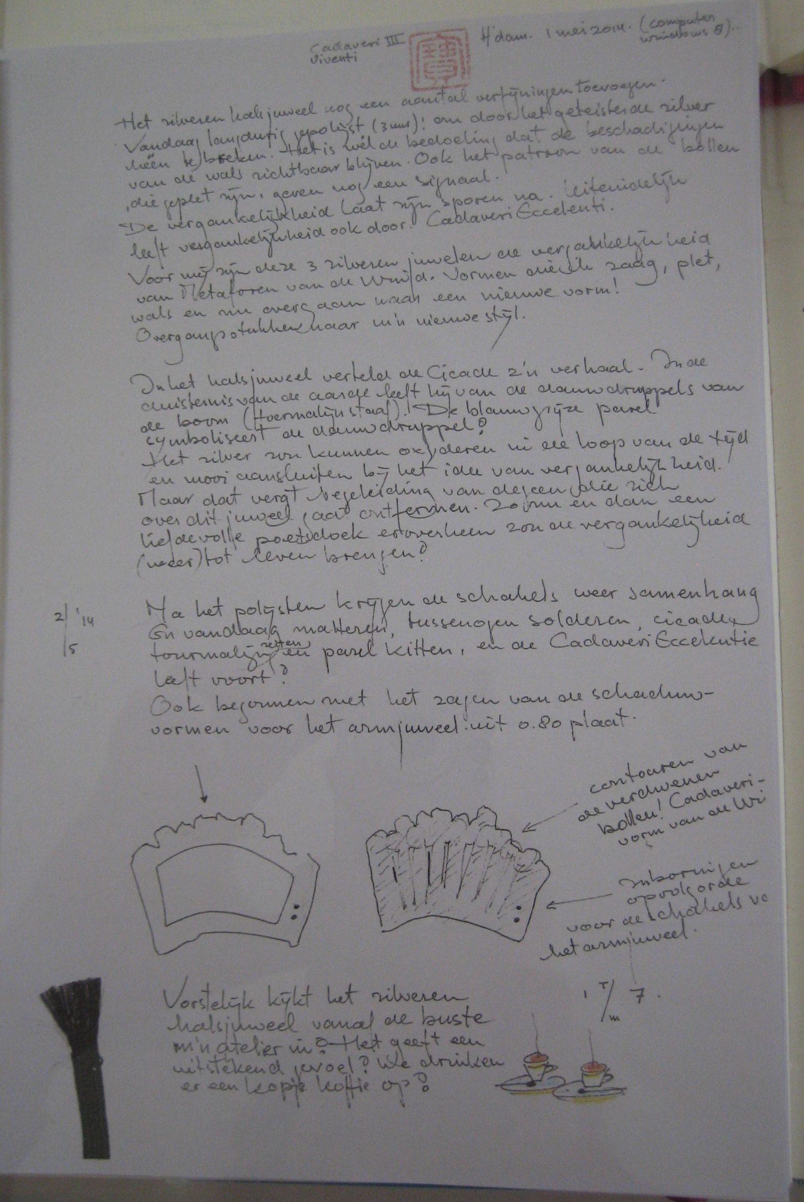 Anneke Schat, tekst en tekeningen, 2014. Foto Esther Doornbusch, CC BY 4.0