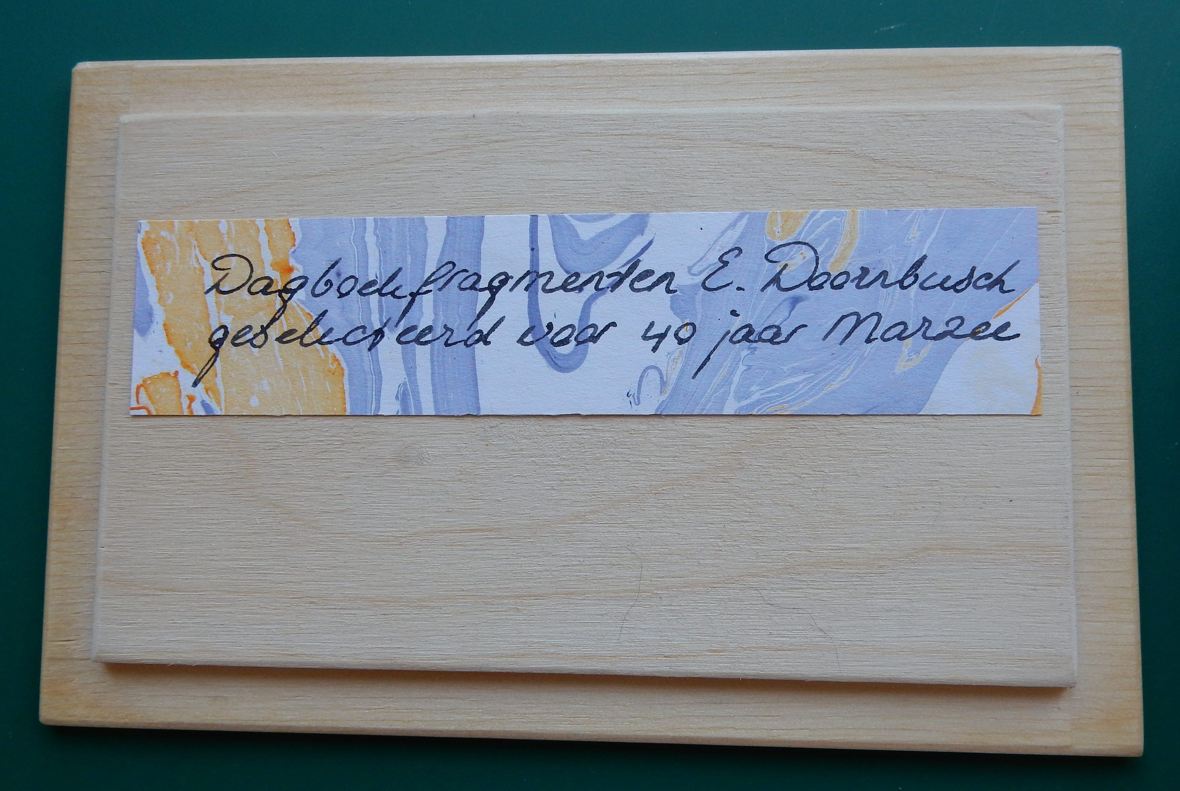 Cadeausje voor Marzee, mei 2019. Foto Esther Doornbusch, CC BY 4.0