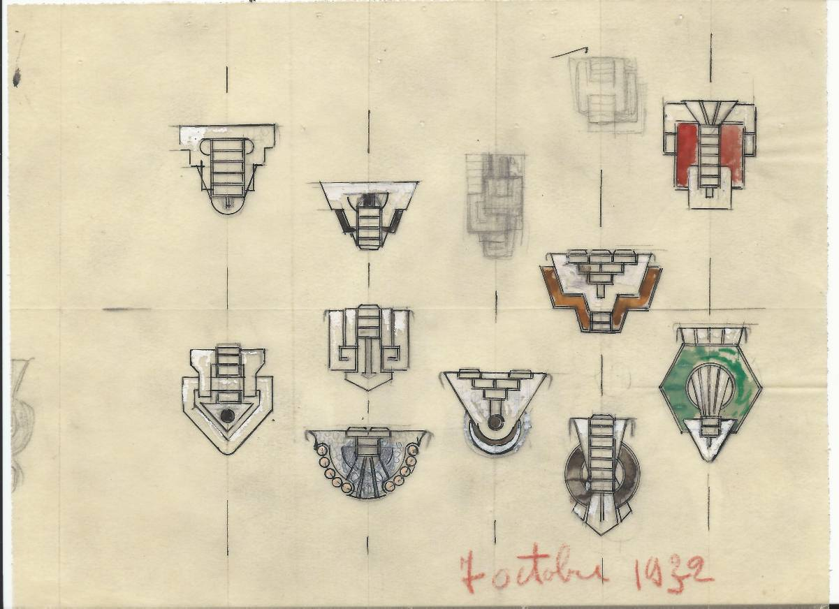 Raymond Pivert, tekening, 1932. Foto met dank aan Grafische Sammlung Stern©