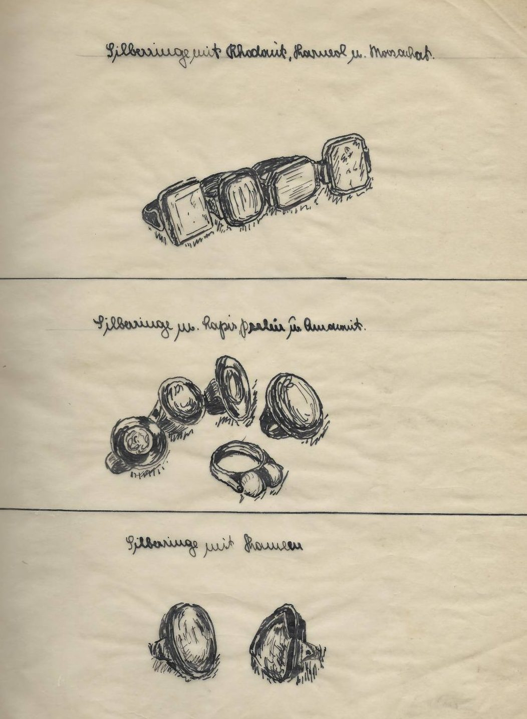 Alfred Dörner, tekening, 1934-1960. Foto met dank aan Grafische Sammlung Stern©