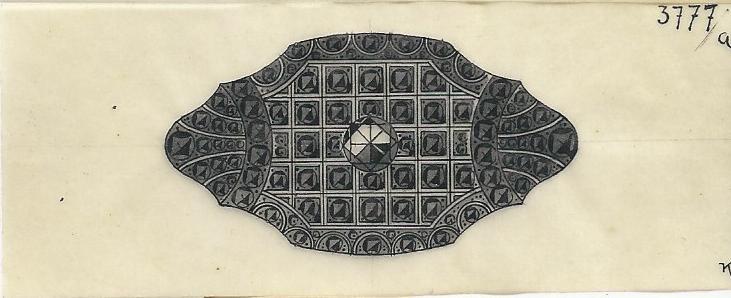 Firma Goldbaum, ontwerptekening, circa 1920-1935. Foto met dank aan Grafische Sammlung Stern©