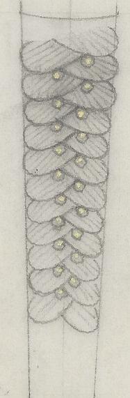 L. Franklé, ontwerptekening, 1930-1940. Foto met dank aan Grafische Sammlung Stern©