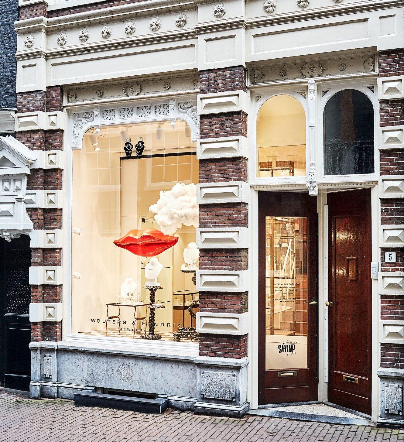 Winkel Wouters & Hendrix Amsterdam. Foto met dank aan Wouters & Hendrix©