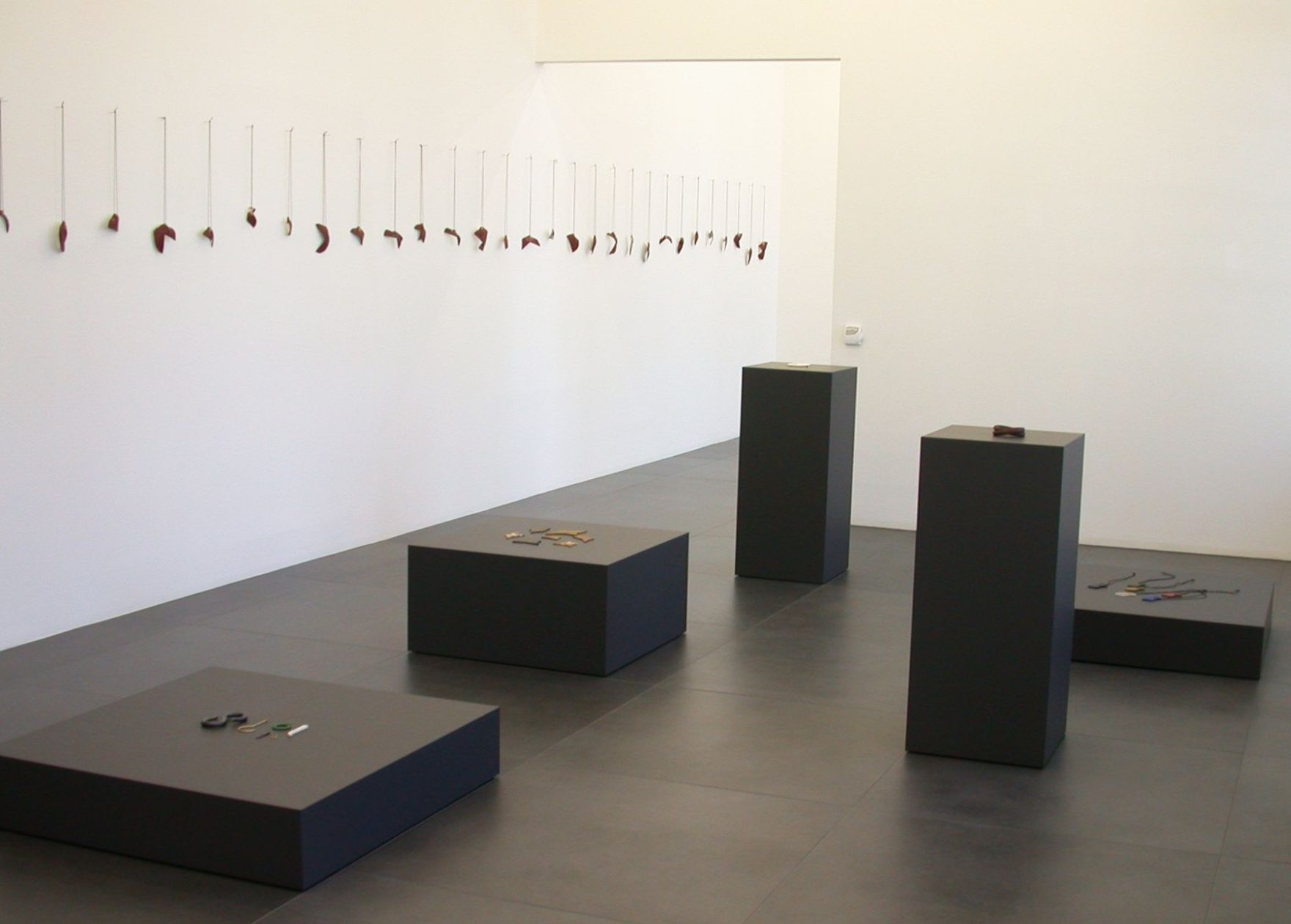 Warwick Freeman in Galerie Wittenbrink, 2014. Foto met dank aan Galerie Wittenbrink©
