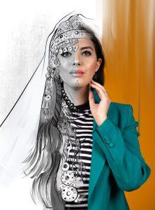 Fatima Essahsah. Foto met dank aan Stones Stories©