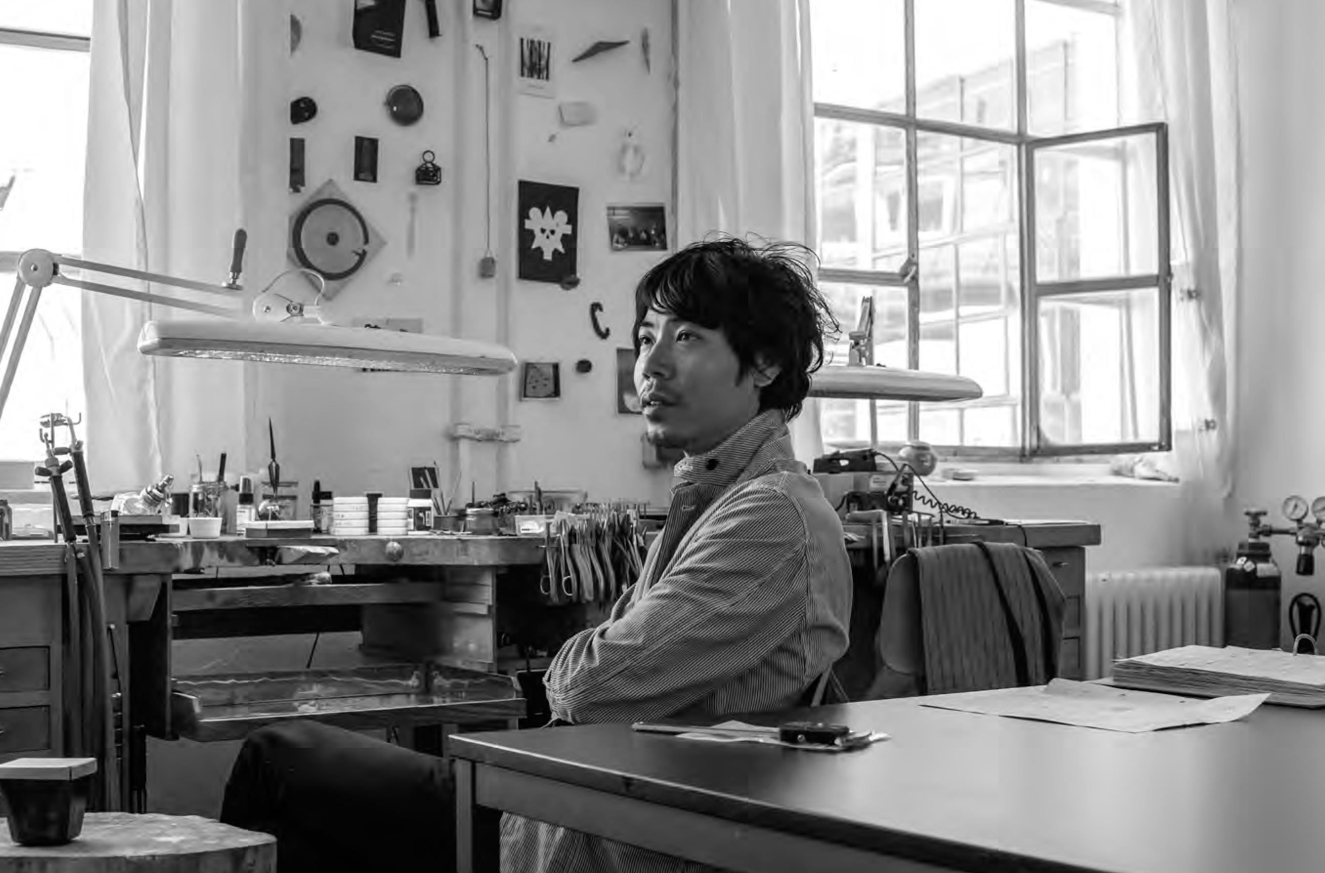 Jiro Kamata, 2019, portret