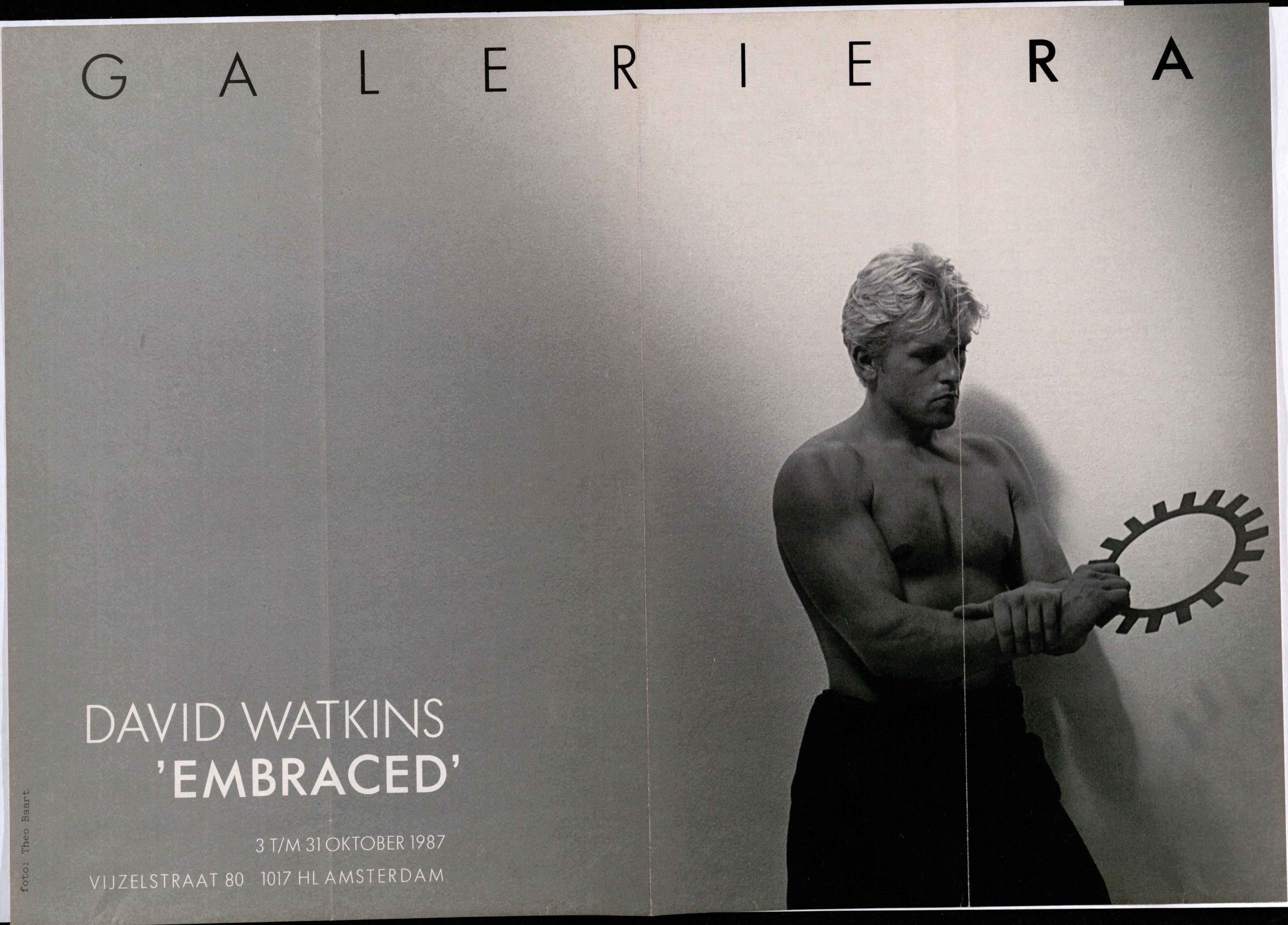 Ra Bulletin 35, oktober 1987, voorzijde met foto van Theo Baart met halssieraad van David Watkins