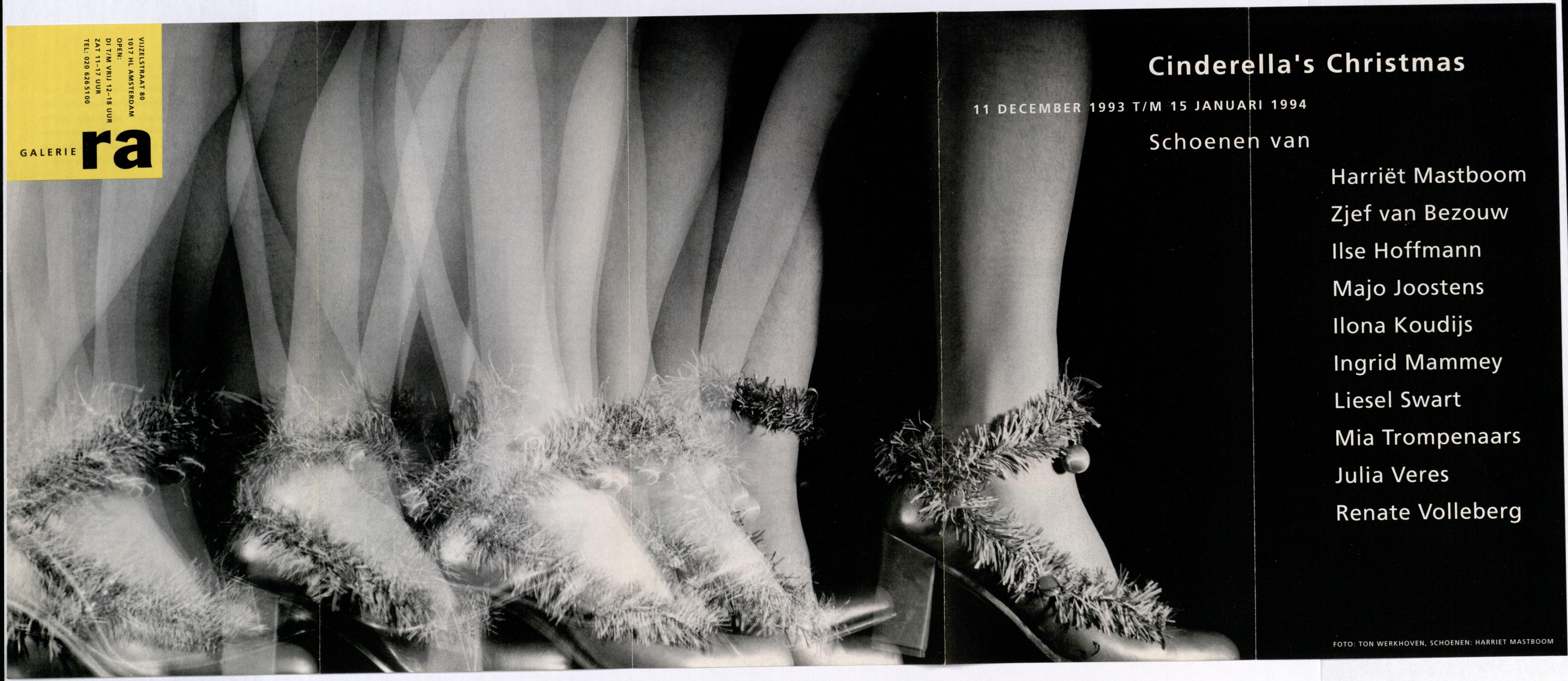 Ra Bulletin 79, december 1993, voorzijde met foto van Ton Werkhoven© met schoenen van Harriët Mastboom