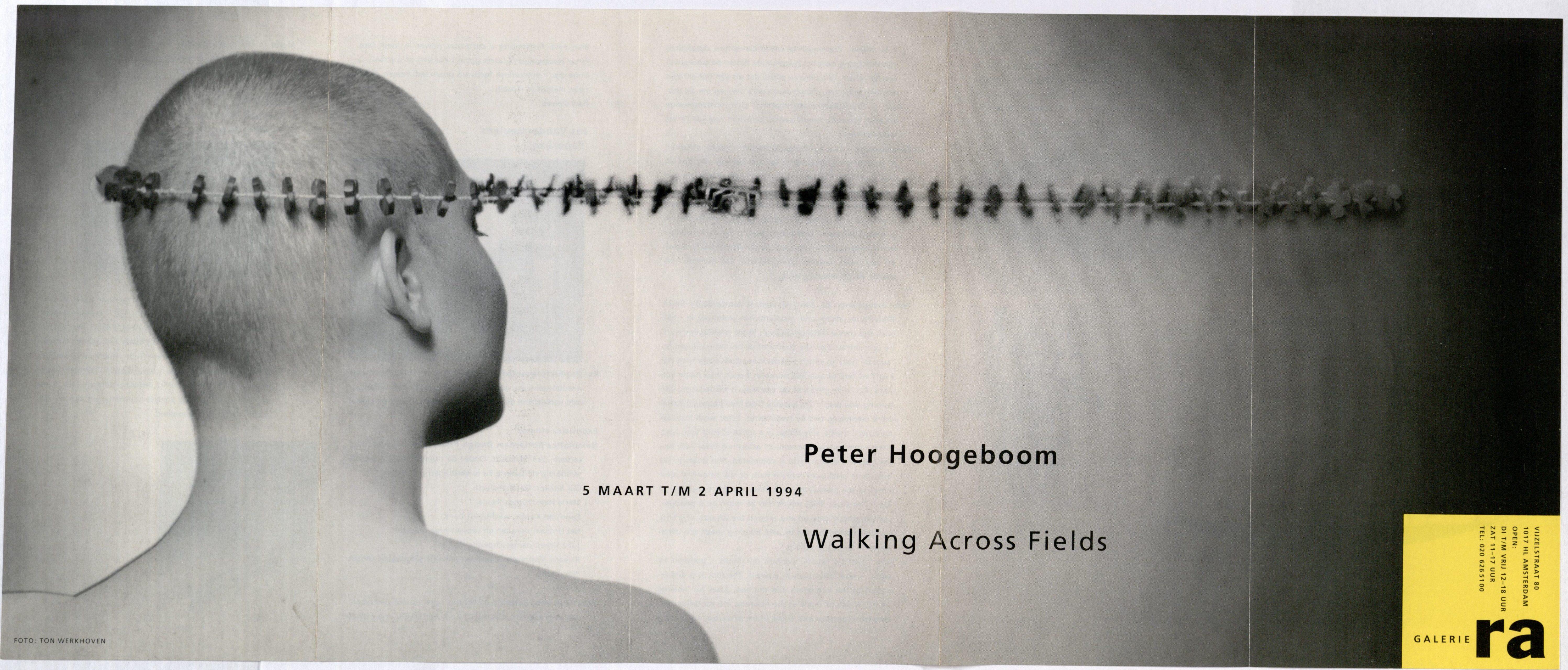 Ra Bulletin 81, februari 1994, voorzijde met foto van Ton Werkhoven met halssieraad van Peter Hoogeboom, drukwerk, papier