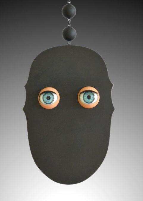 Niklas Link, Augen, halssieraad, staal, kunststof