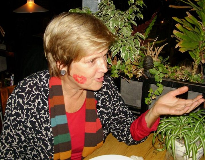 Suzanne Esser. Vormgeving met een afscheidskus, 2010, portret