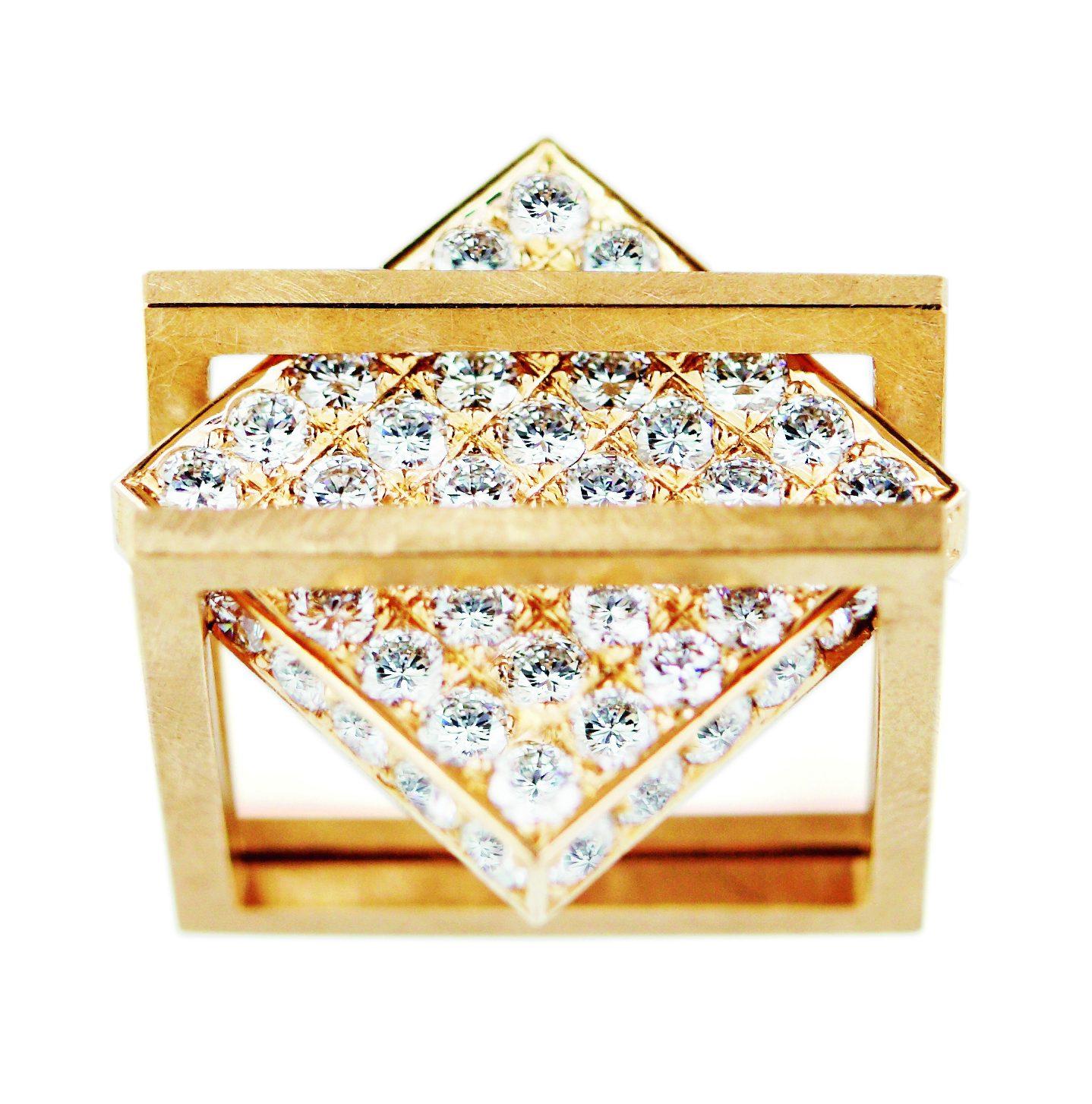 Peter de Wit, ring, 2011, goud, diamanten
