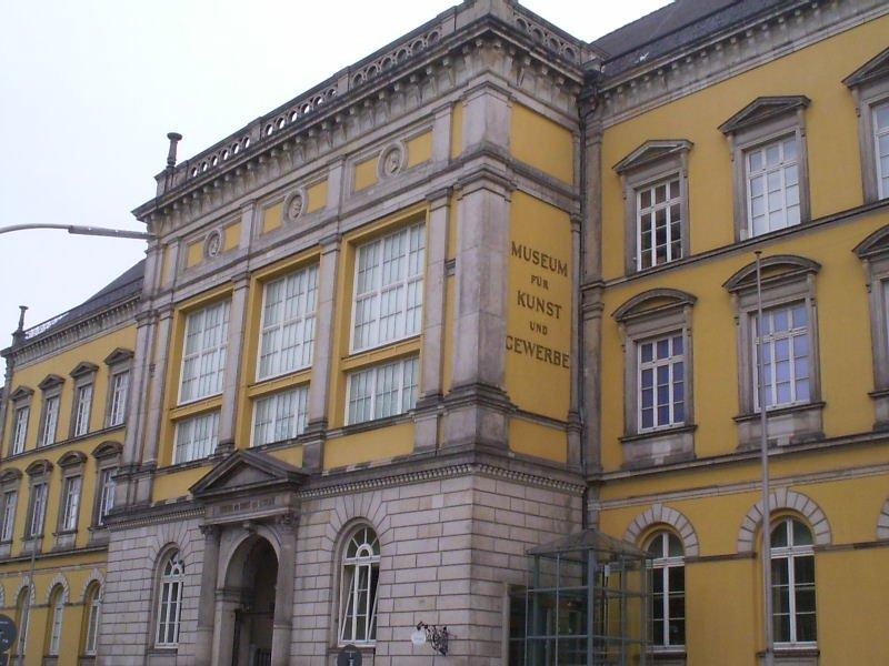 Museum für Kunst und Gewerbe Hamburg, 2005. Foto Lorenz Teschner, gebouw, exterieur