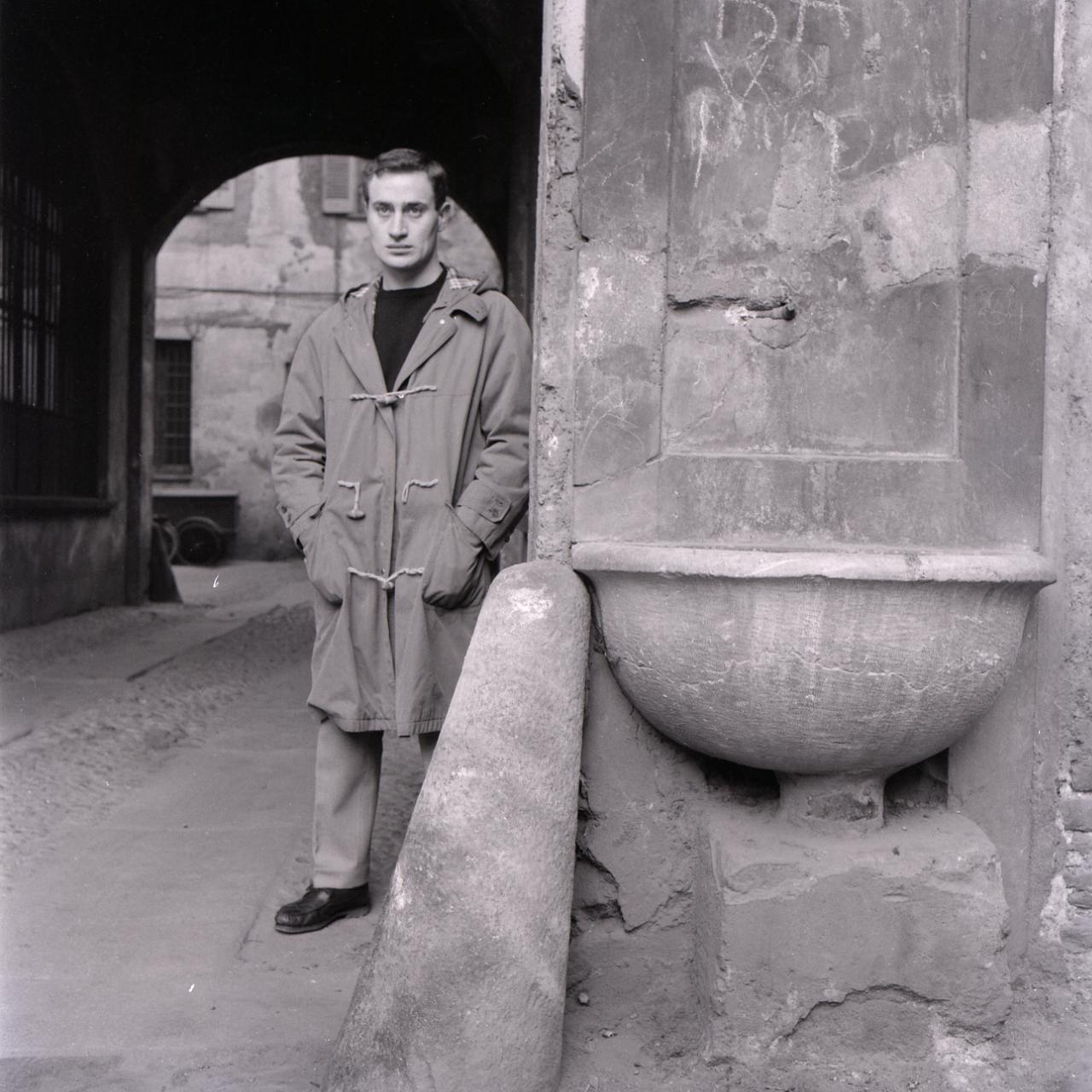 Giò Pomodoro, foto Paolo Monti, portret